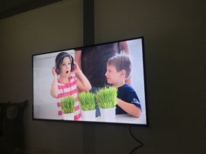 「The Collision of Art & Technology」というタイトルの展示