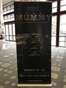 コンベンションセンターのMummy VR