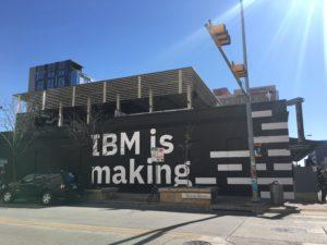 SXSW IBMの展示