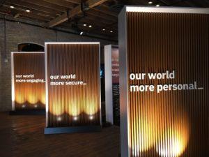 SXSW IBMテーマごとに展示
