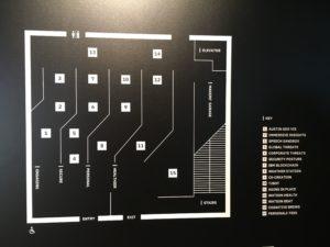 SXSW IBMの展示案内図