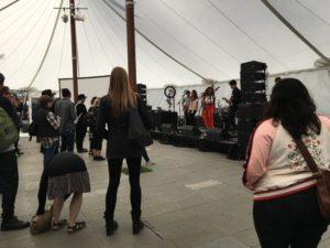 SXSW 屋外ステージのライブ