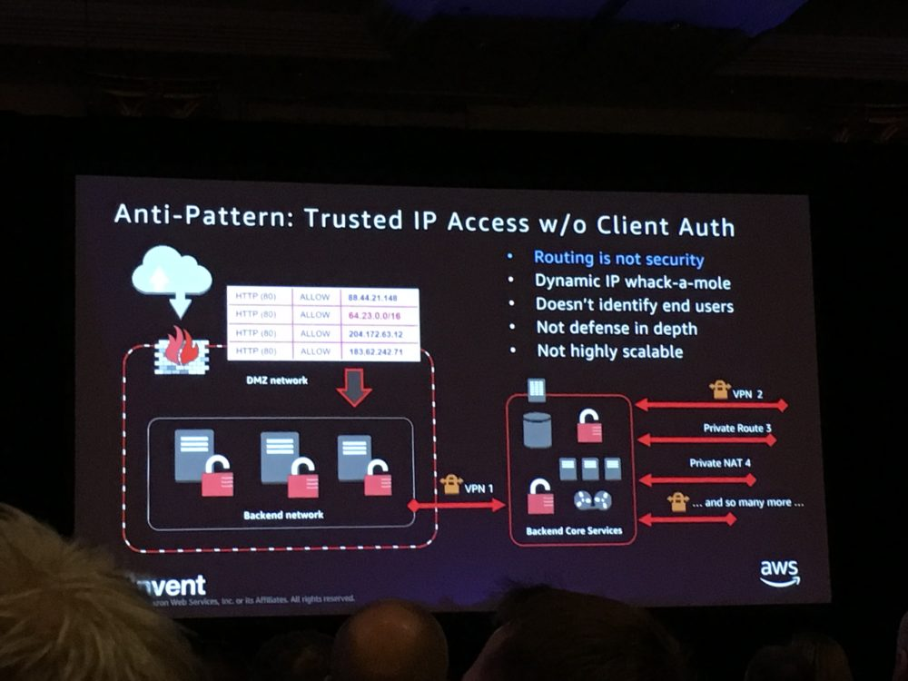 re:Invent2017 Network Design Anti-Patterns