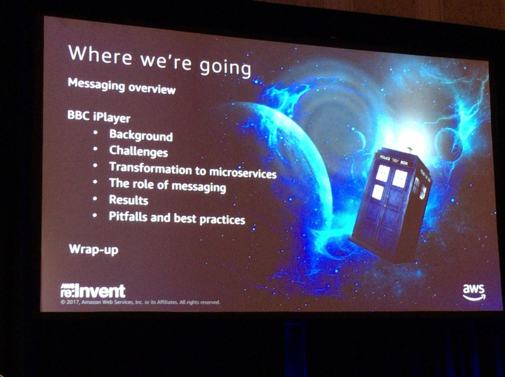 re:Invent2017 BBC Built Agenda