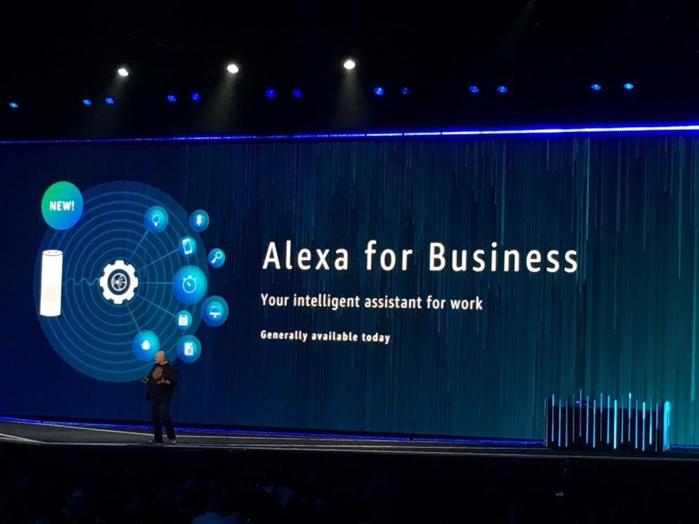 re:Invent Alexa for Business